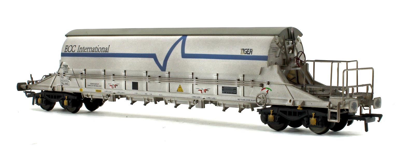 PBA Tiger Wagon TRL 11612 ECC International White (Weathered)
