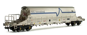 PBA Tiger Wagon TRL 11620 ECC International White (Weathered)