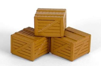 Small Wooden Crates (3 per bag)