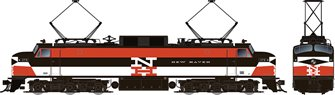 HO Scale EP-5 Electric Loco - New Haven Delivery #370