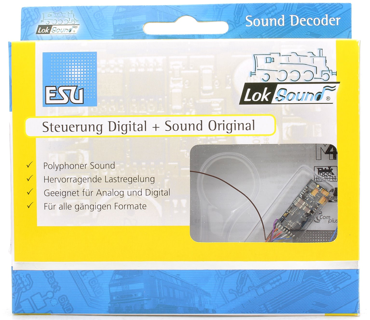 Loksound 54800 Blank V4.0 Micro decoder (6 pin)