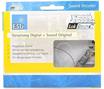 Loksound 54800 Blank V4.0 Micro decoder (6 pin)