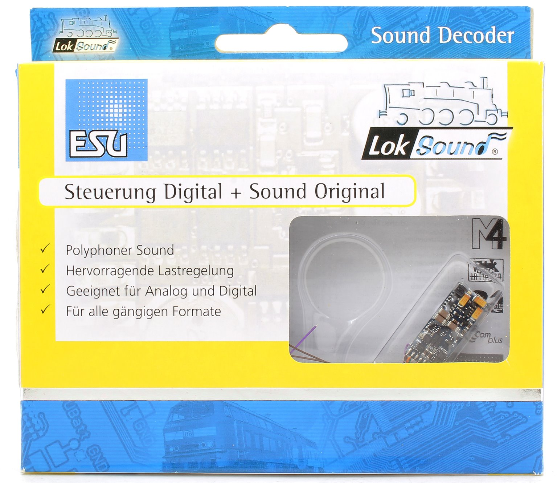 "LokSound micro V4.0 ""Universal sound for self-programming"", with 8-pol. NEM652 interface"