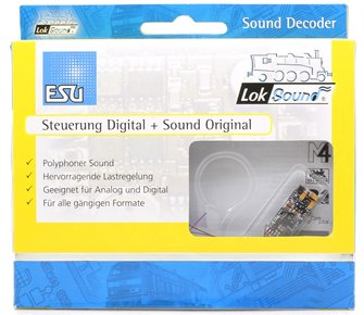 "LokSound micro V4.0 ""Universal sound for self-programming"", with 8-pol. NEM652 interface"