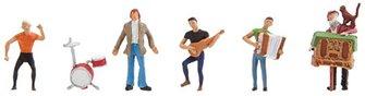 Street Musicians (5) Figure Set