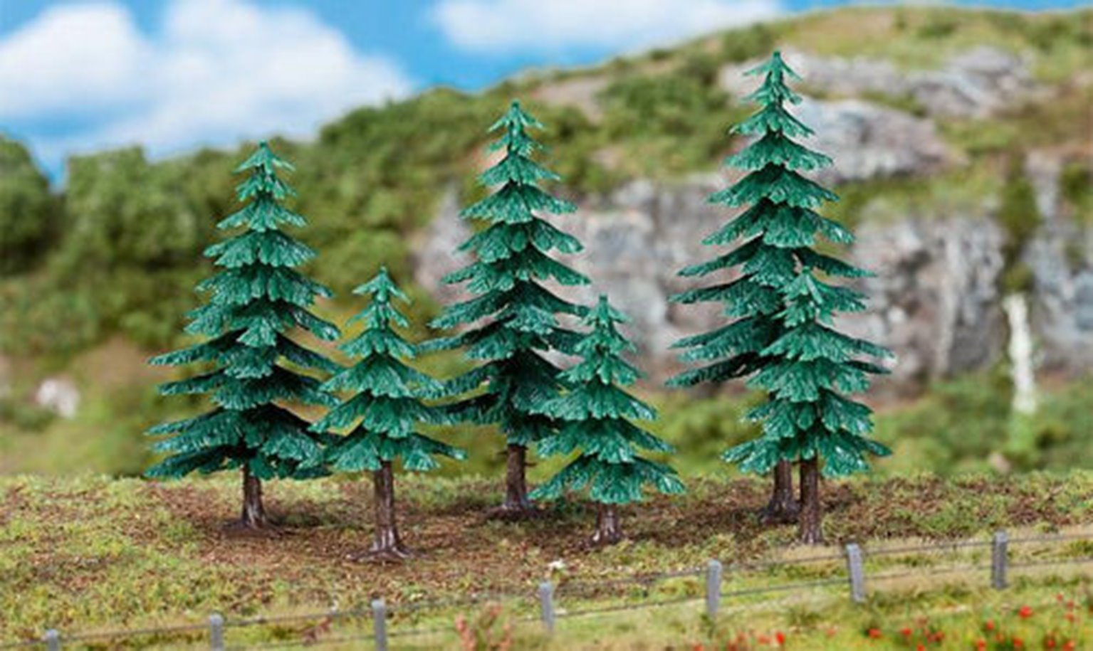 Fir Trees 50-120mm (6)