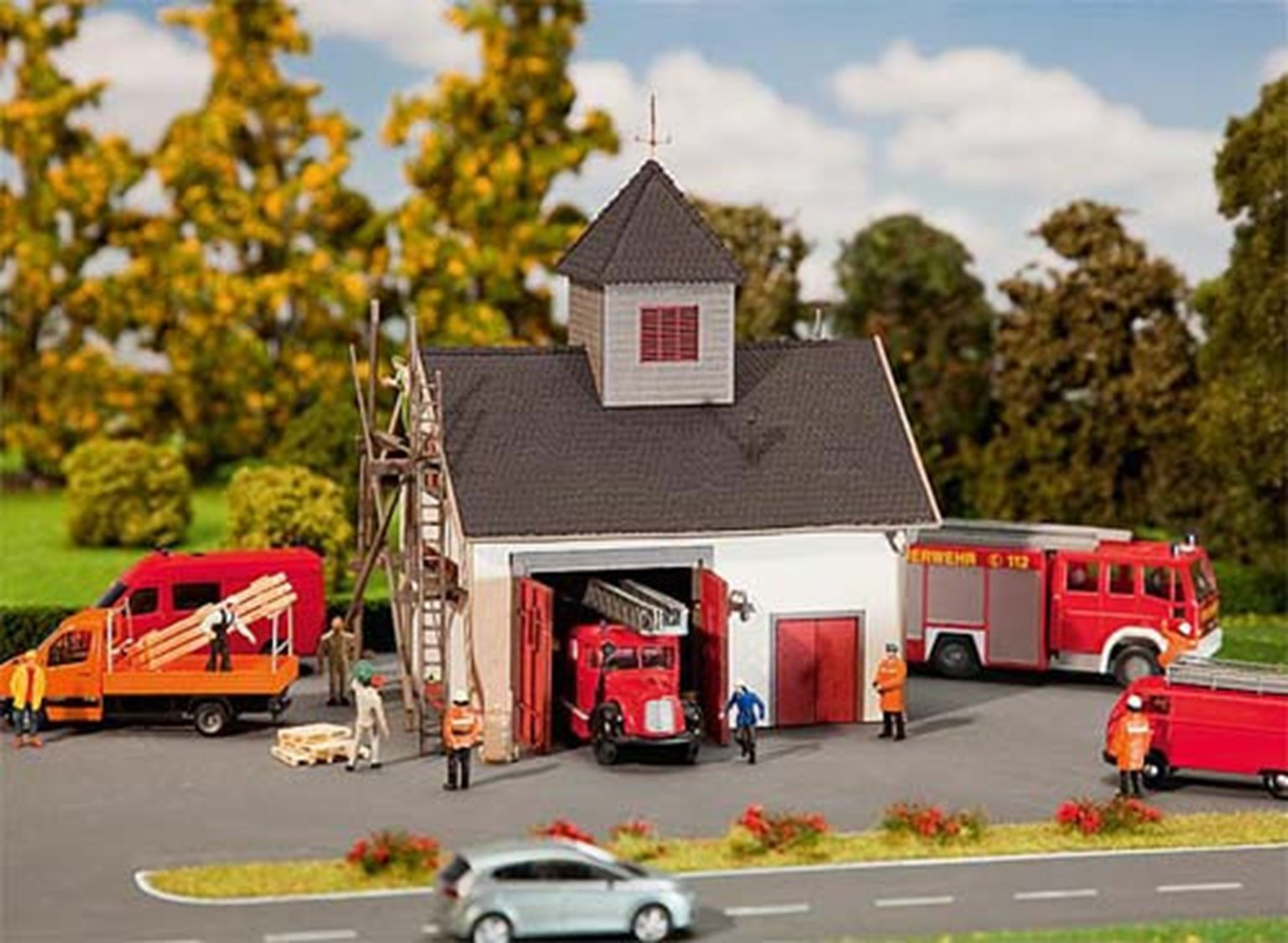 Country Style Fire Station Kit III