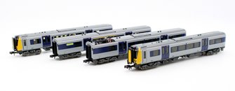 Class 350-1 Desiro 4 Car EMU 350 111 'Apollo' Silverlink (Unbranded)