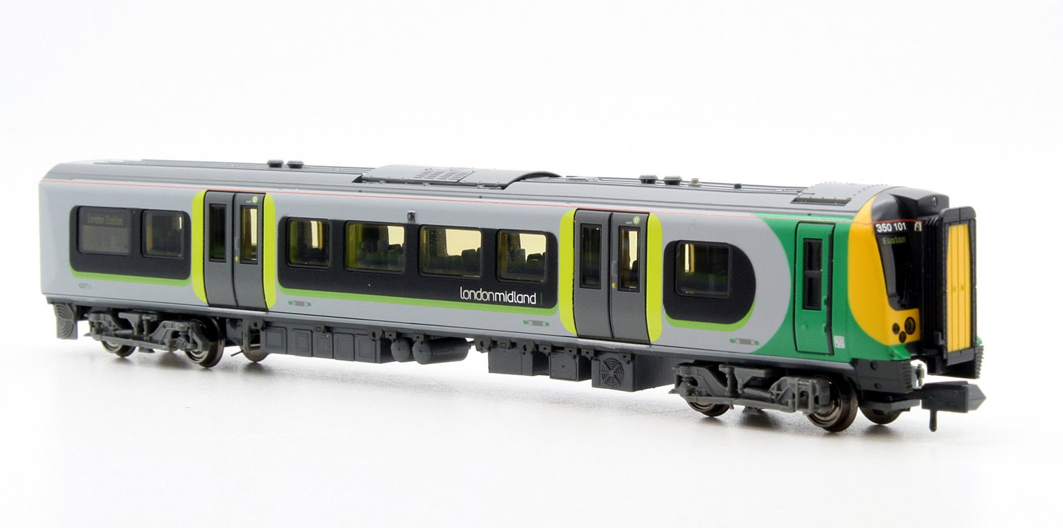 Class 350-1 Desiro 4 Car EMU 350 101 London Midland
