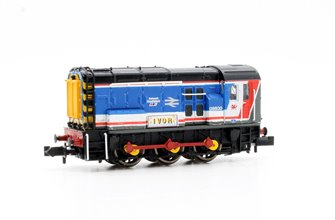 Class 08 600 'Ivor' Network SouthEast Diesel Shunter Locomotive