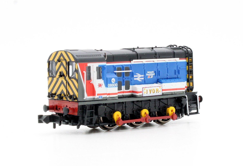 Class 08 600 'Ivor' Network SouthEast Diesel Shunter Locomotive
