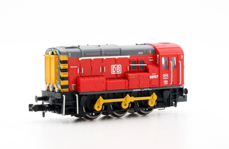 Class 08 907 DB Schenker Diesel Shunter Locomotive