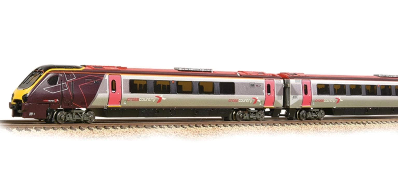 Class 220 4-Car DEMU 220009 Arriva Cross Country