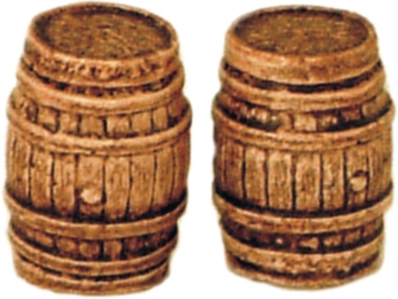 Two Large Oak Casks