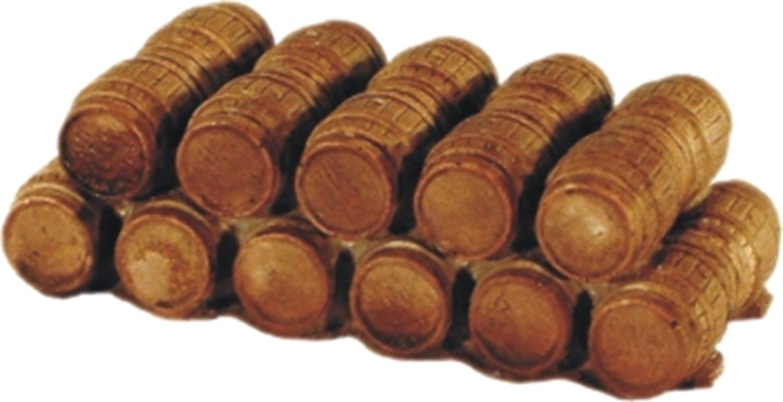 Double Row of Oak Casks