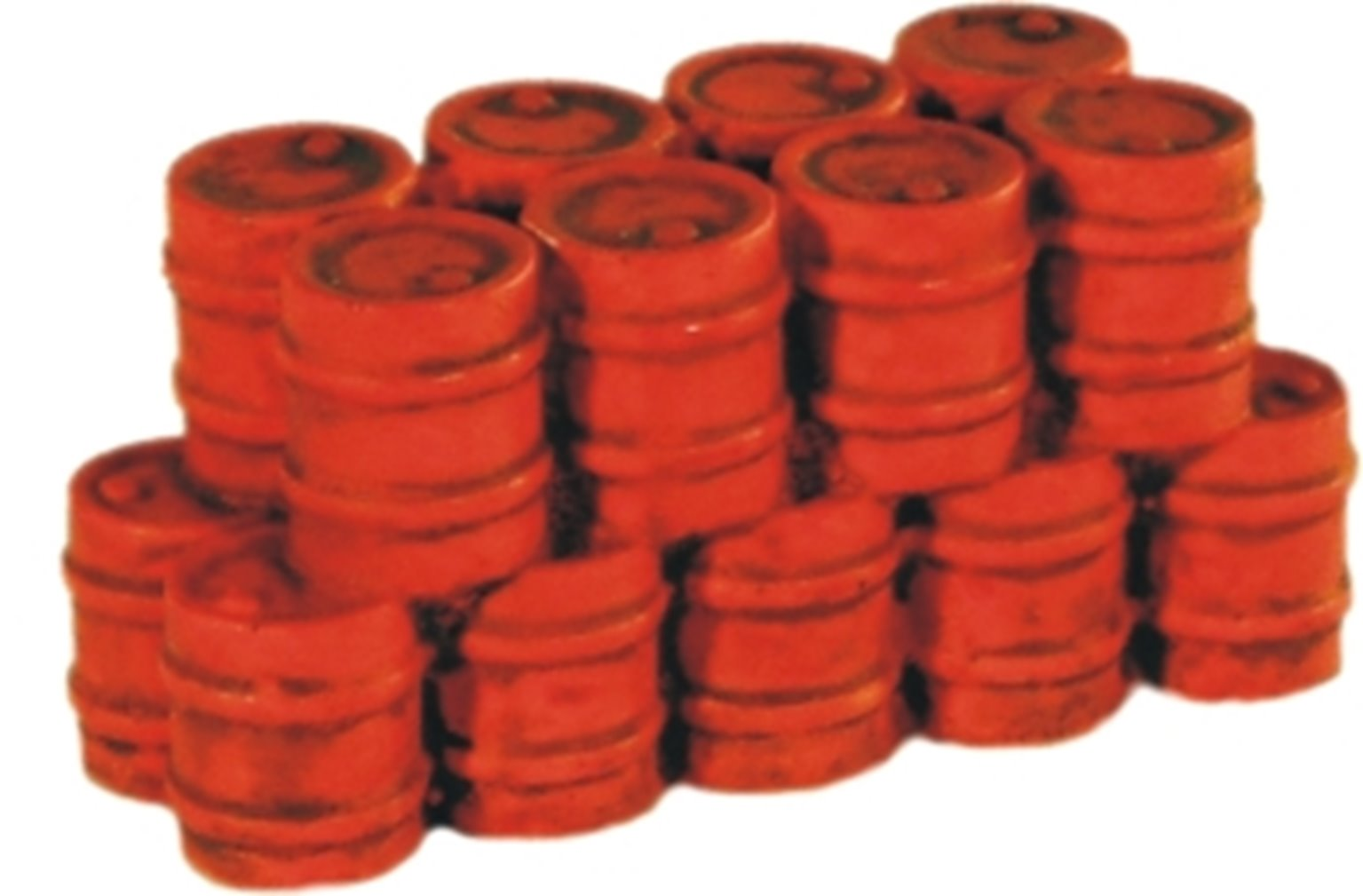 Stack of Oil Drums (Red)