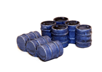 Oil drum groups blue (3 & 5)