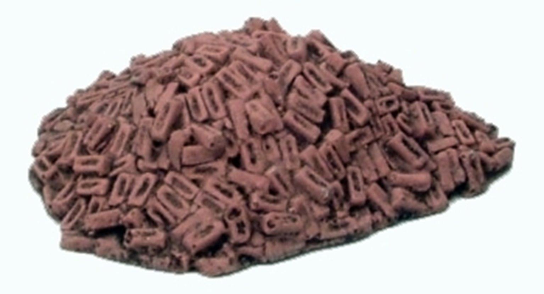 Pile of Loose Red Bricks