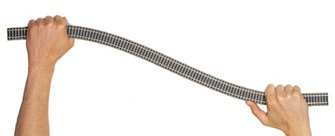 Profi Track Flexible 800mm Wooden Sleepers