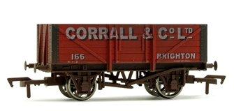 5 Plank Wagon Corrall & Co Ltd 166 Brighton Weathered