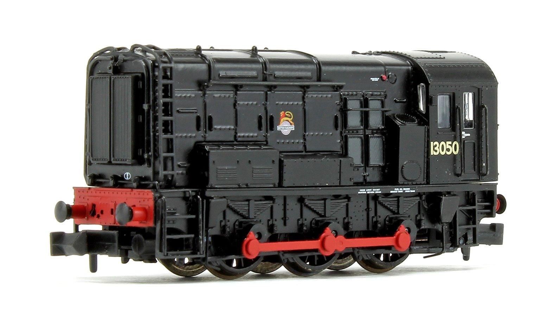 Class 08 13050 BR Black Early Emblem Diesel Shunter