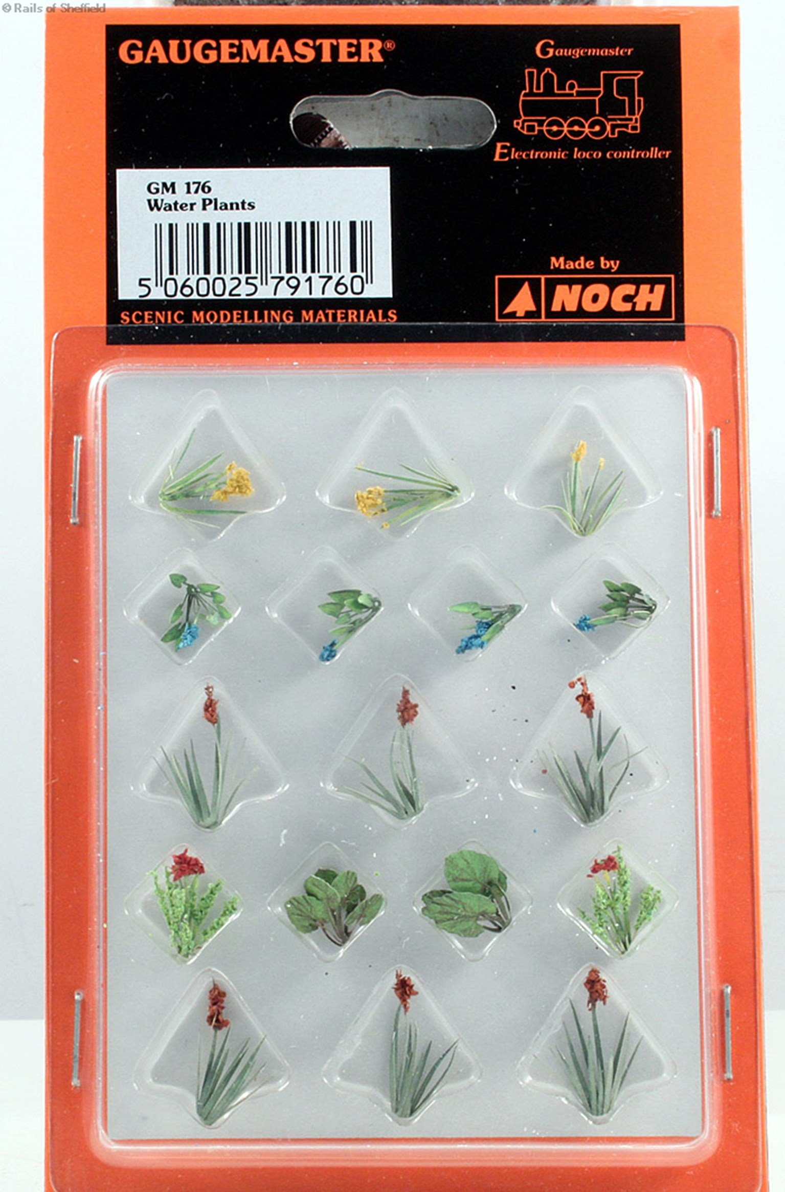 Laser Cut Minis - OO/HO Scale Water Plants (17)