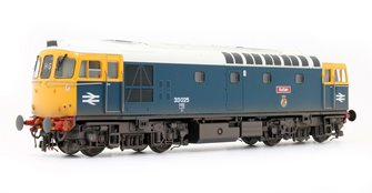 Class 33 025 'Sultan' BR Blue Lt Grey Roof Diesel Locomotive (Lightly Weathered)