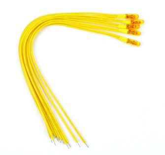 Yellow 12v Grain Of Wheat Bulbs (5)
