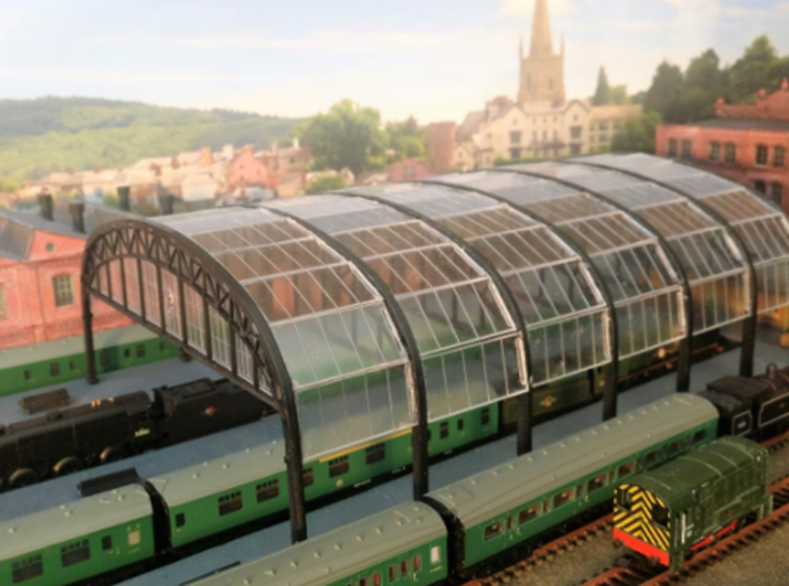 Station Overall Roof Kit
