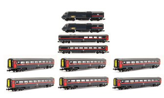Class 43 HST GNER Ten Car High Speed Pack