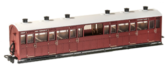 Observation Coach Unlettered Indian Red