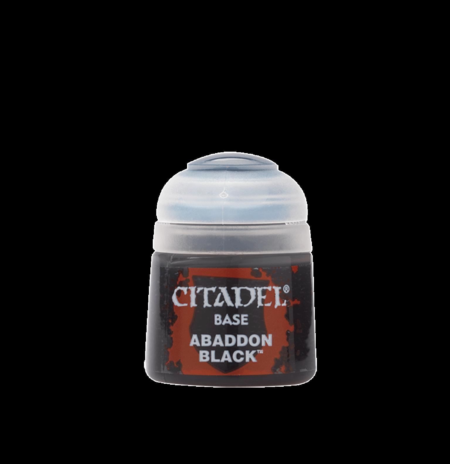 Citadel Base Abandon Black Paint Pot