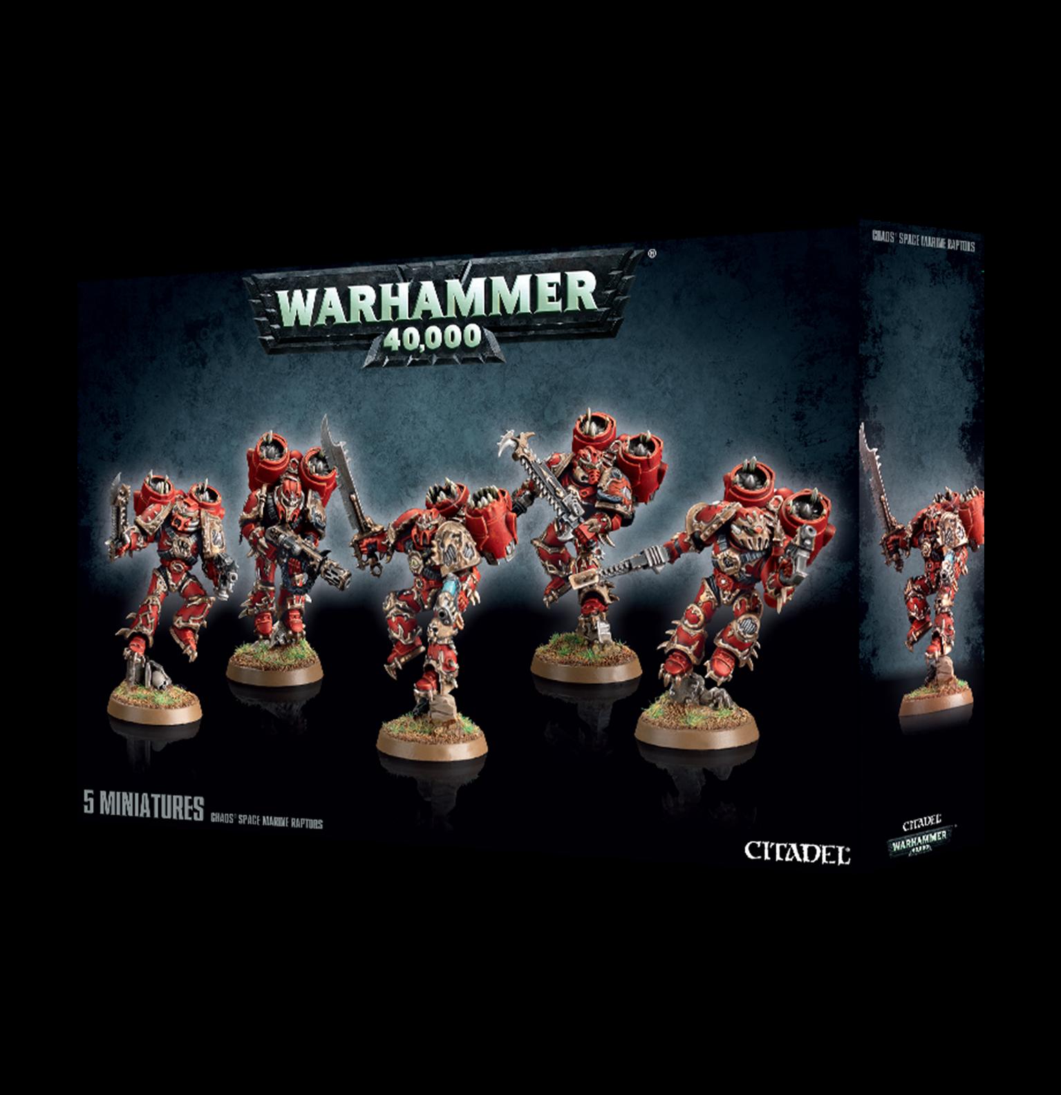 Warhammer 40,000 Chaos Space Marines Raptors