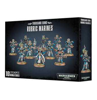 Warhammer 40,000 Thousand Sons Rubric Marines
