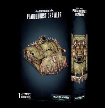 Warhammer 40,000 Death Guard Plagueburst Crawler