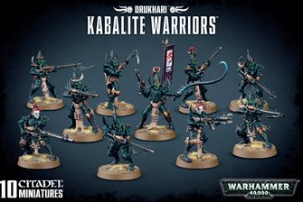 Warhammer 40,000 Dark Eldar Kabalite Warriors