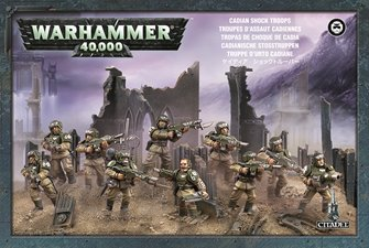 Warhammer 40,000 Astra Militarum Cadian Infantry Squad