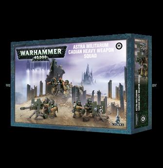 Warhammer 40,000 Astra Militarum Cadian Heavy Weapon Squad