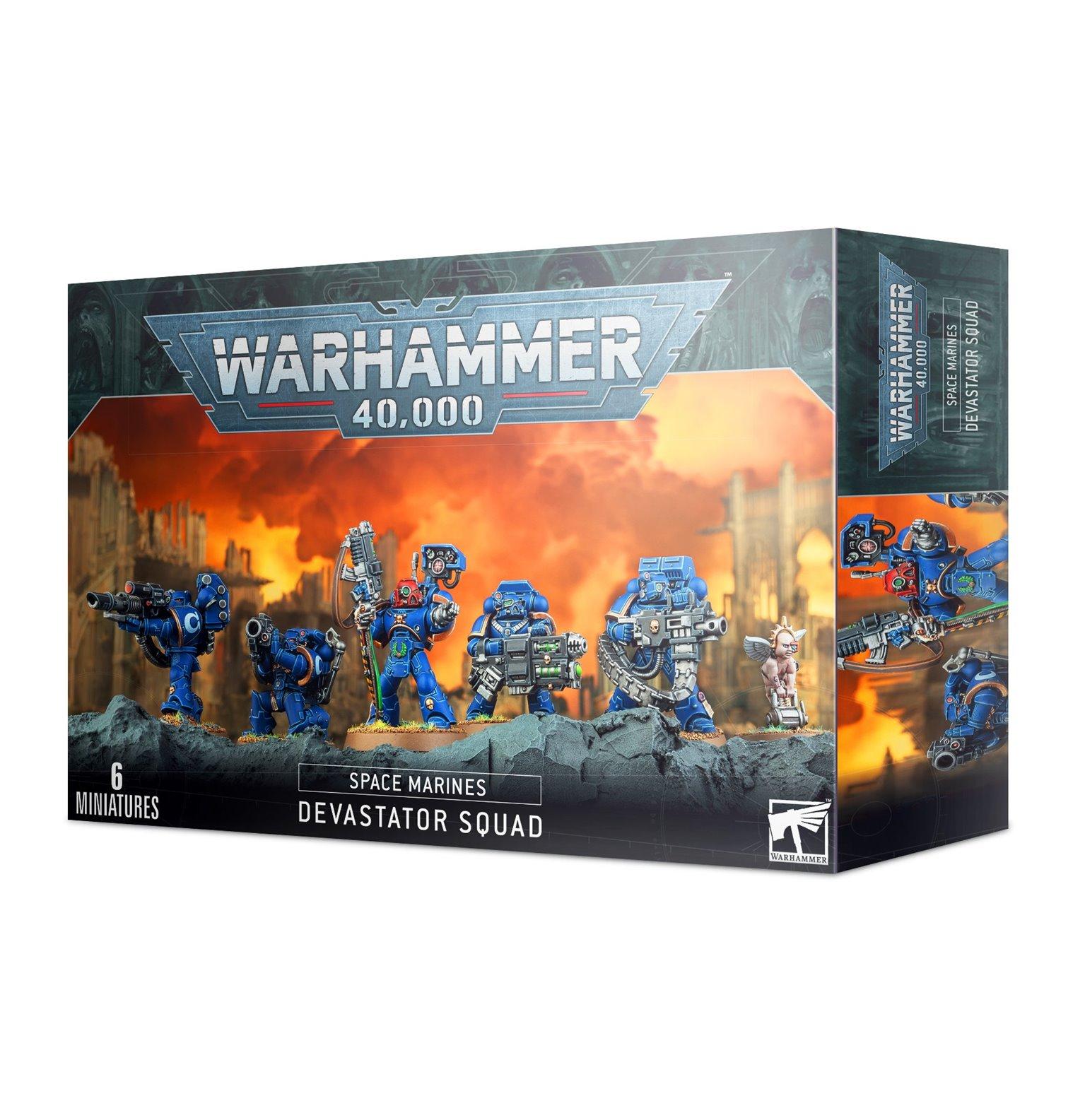 Warhammer 40,000 Space Marine Devastator Squad