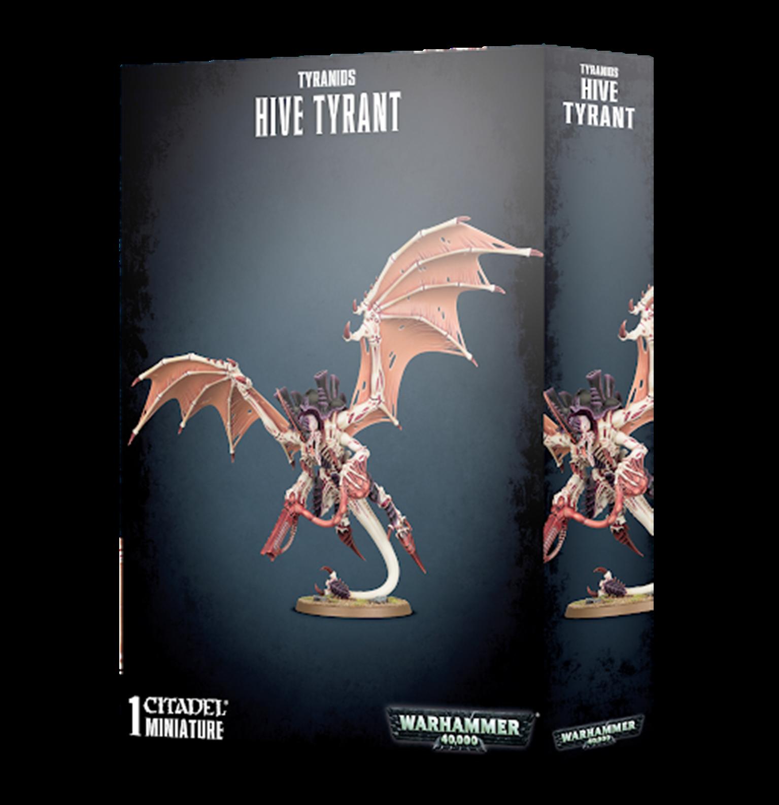 Warhammer 40,000 Tyranids Hive Tyrant / The Swarmlord