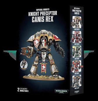 Warhammer 40,000 Imperial Knights, Knight Preceptor Canis Rex