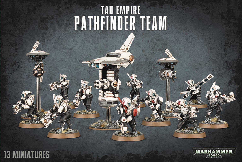 Warhammer 40,000 T'au Empire Pathfinder Team