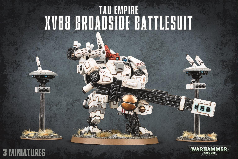 Warhammer 40,000 T'au Empire XV88 Broadside Battlesuit