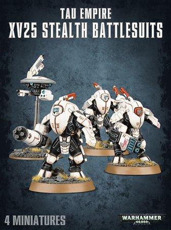Warhammer 40,000 T'au Empire XV25 Stealth Battlesuits