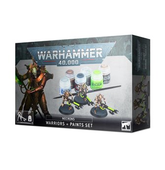 Warhammer 40,000 Necrons: Warriors and Paints Set