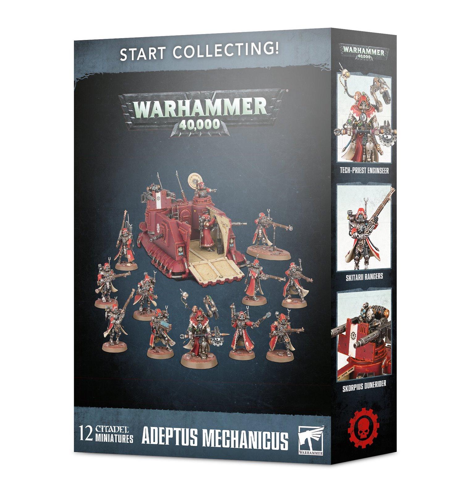 Warhammer 40,000 Start Collecting! Adeptus Mechanicus