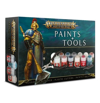 Warhammer Age of Sigmar Paints and Tools Set