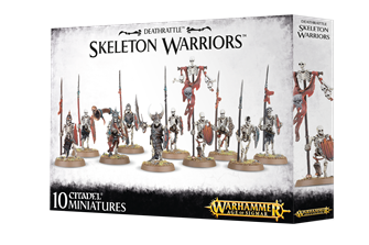 Warhammer Age of Sigmar Deathrattle Skeleton Warriors