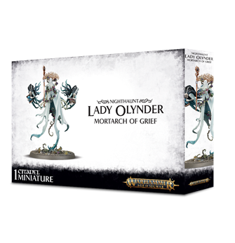 Warhammer Age of Sigmar Nighhaunt Lady Olynder, Mortarch of Grief