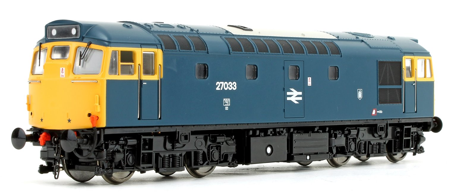Class 27 033 BR Blue (Full Yellow Ends) Diesel Locomotive
